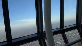 東京スカイツリーのエレベーターは、第一展望台までが4基・第二展望台...