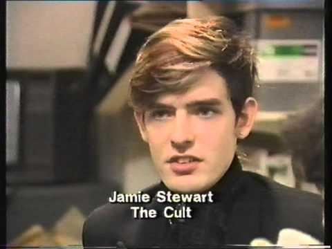 The Cult Jamie Stewart Interview Music Box 1985 Youtube