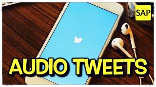 #110 🗣️ Twitter will let you tweet with your voice 🙉 Leitura e tradução de texto em inglês