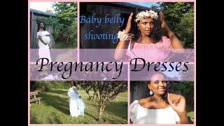 ፎቶ ሹቲንግ 💏 ቀሚሶቼ እንዴት እንደሚያምሩ💃amazon pregnancy dresses I yenafkot lifestyle