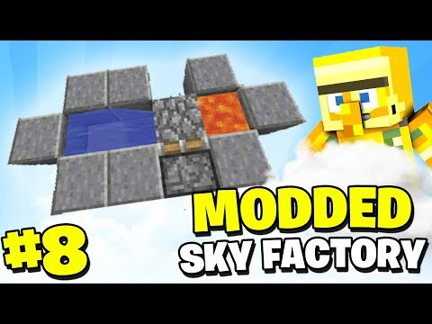 GROWING THE AUTOMATIC ORE GENERATOR - SKY FACTORY 3 #8