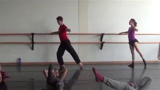Contemporary Ballet Barre training by Yeri Anarika