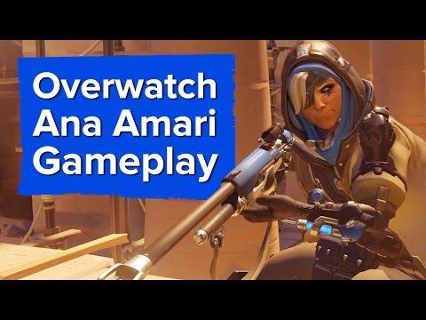 Overwatch's new hero in action - Ana Gameplay Trailer