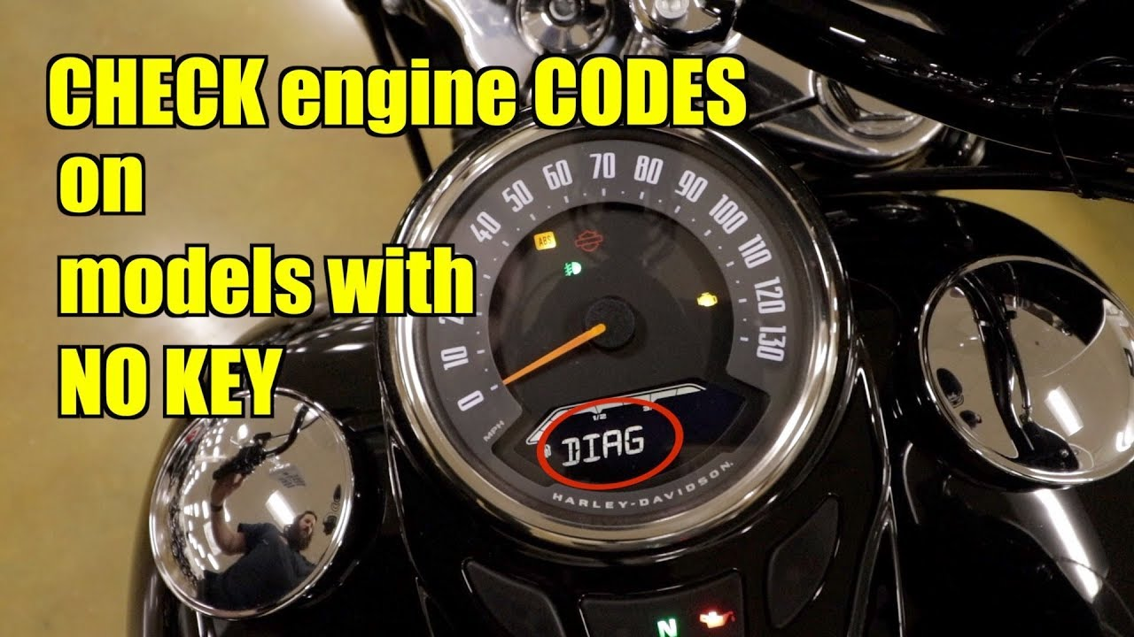 2018 Softail // How to CHECK CODES - YouTube