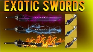 How To Get Exotic Swords - Raze Lighter, Bolt Caster, Dark Drinker - Quest Line Leak