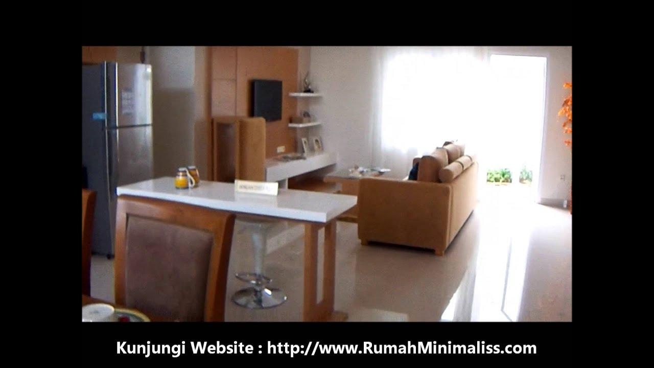 Interior Rumah Minimalis Ruang Tamu Keluarga Dan Dapur YouTube