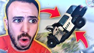 LE PIRE ACCIDENT DE VOITURE DE POLICE !
