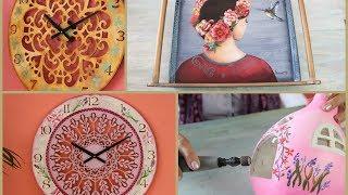 ManosalaObraTV - Programa 33 -  Pintura Decorativa - Herramientas Dremel - Bandeja - Reloj