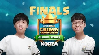 Clash Royale Crown Championship Korea - Finals