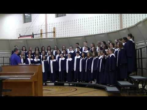 Drauden Point Middle School Eighth Grade Choir Contest 2016-03-11