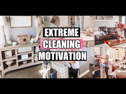 ULTIMATE CLEANING MOTIVATION-WHOLE HOUSE CLEAN WITH ME- CLEANING MUSIC