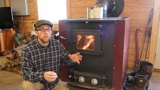 How we Designed our House to be Heated with Wood & Natural Convection
