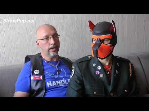 Handler Shane & Pup Rockey Interviewed @ CLAW 2017 | Human Pup Play Toronto
