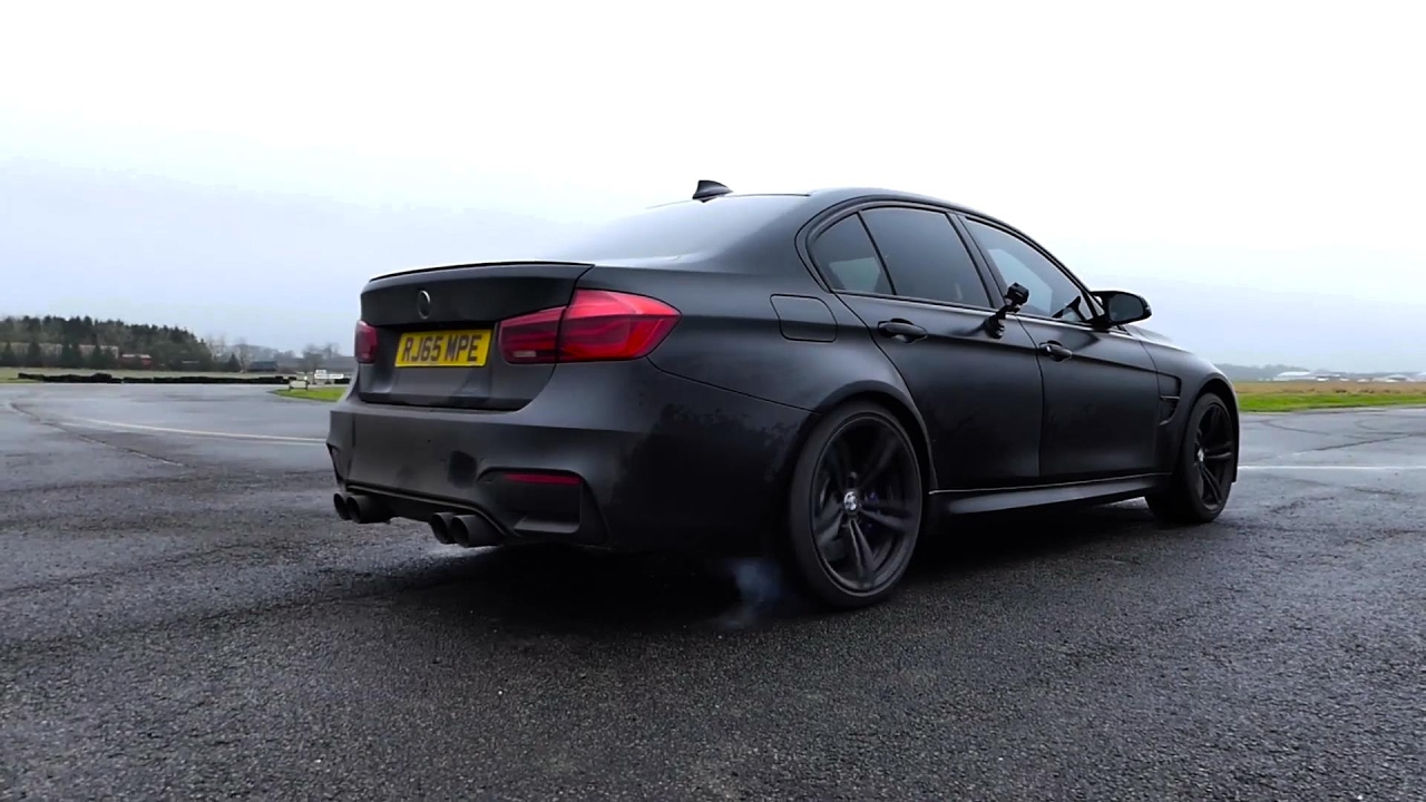 Matte Black Bmw F80 M3 W Armytrix