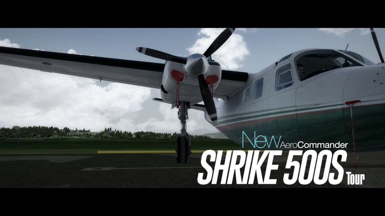 CARENADO 500S SHRIKE AERO COMMANDER FSX/P3D