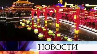 В Китае встретили Новый год по лунному календарю.