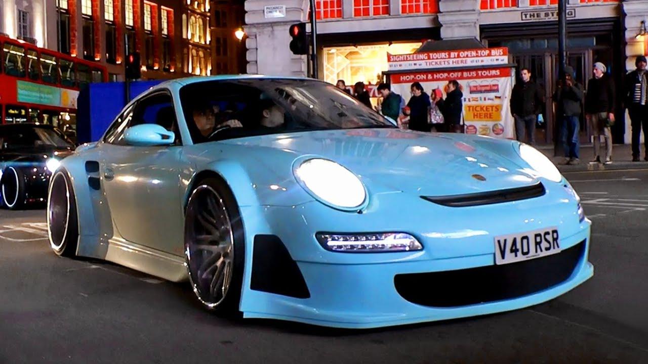 Vogue Auto Design Widebody Porsche 997 Turbo Youtube