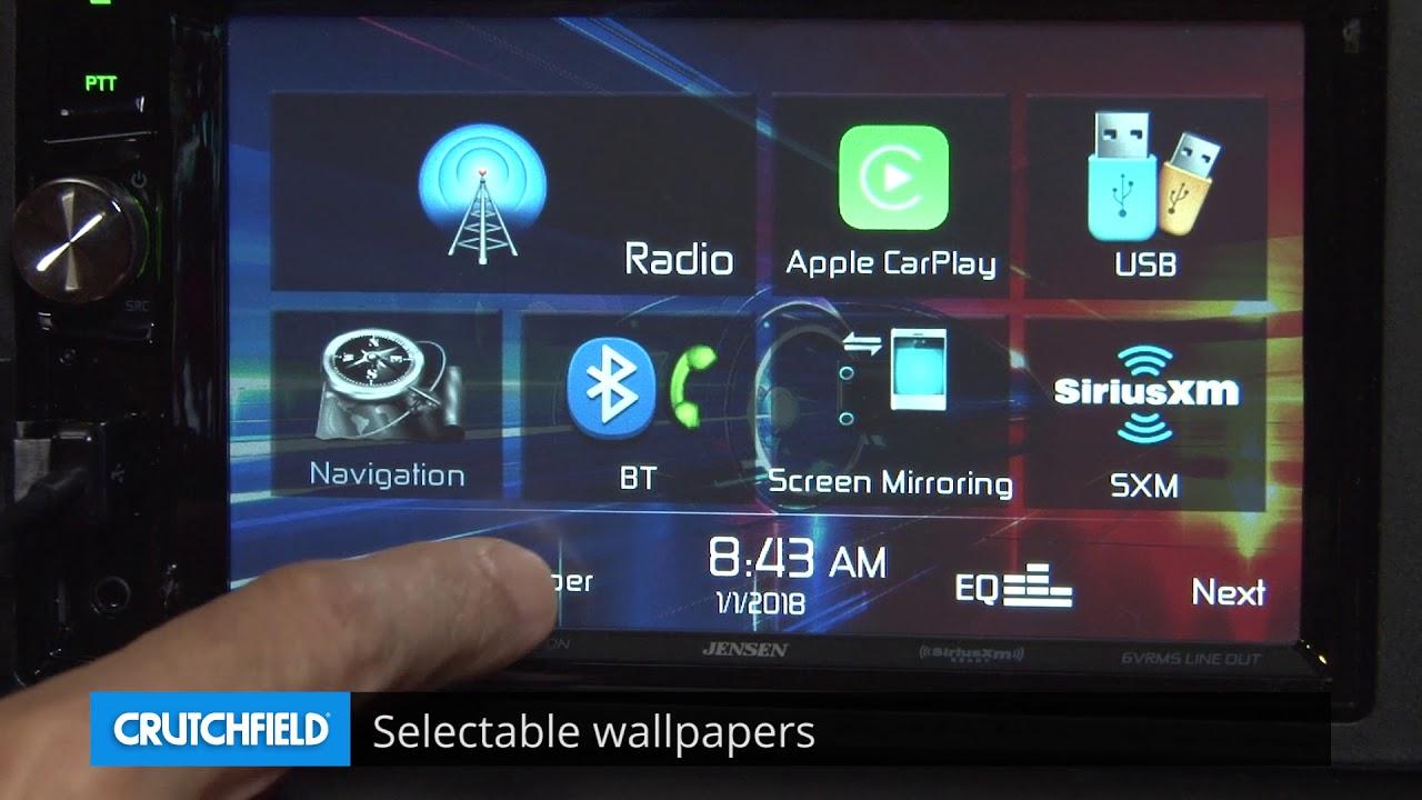 Jensen VX7024 Display and Controls Demo | Crutchfield Video