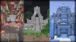 15 Structure and Dungeon Mods (Minecraft Mod Showcases)