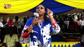 GANDA WARD BY ELECTION: Aisha Jumwa says that she will not support an ODM candidate