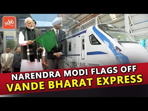 Narendra Modi flags off Vande Bharat Express | Inside View Of Train | BJP LIVE | Train 18 | YOYO TV Mp3