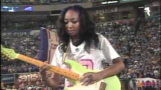 Malina Moye Plays National Anthem for Vikings vs Cowboys