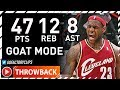 Download Throwback: LeBron James GOAT MODE Game 3 Highlights vs Hawks (2009 Playoffs) - 47 Pts, 12 Reb, 8 Ast
