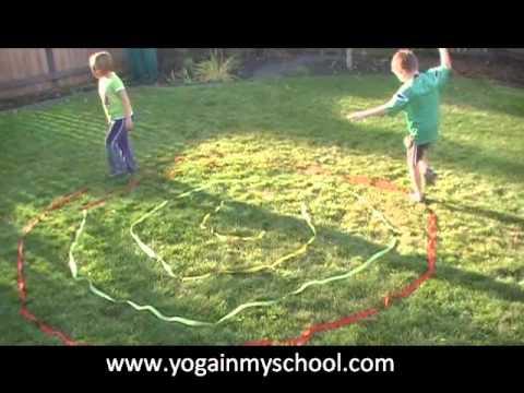 rope walking kids yoga activities  youtube