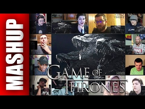 GAME OF THRONES Season 7 Official Tease Reactions Mashup