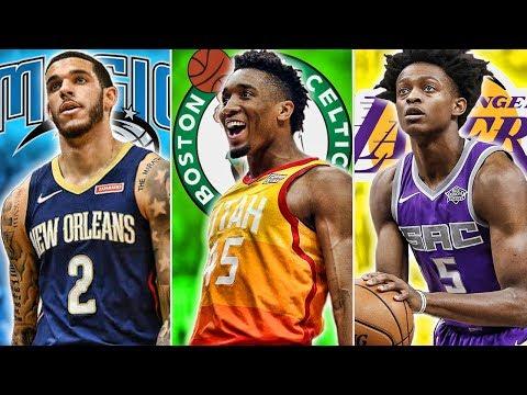 Redrafting The 2017 NBA Draft   Where Will Lonzo Land?