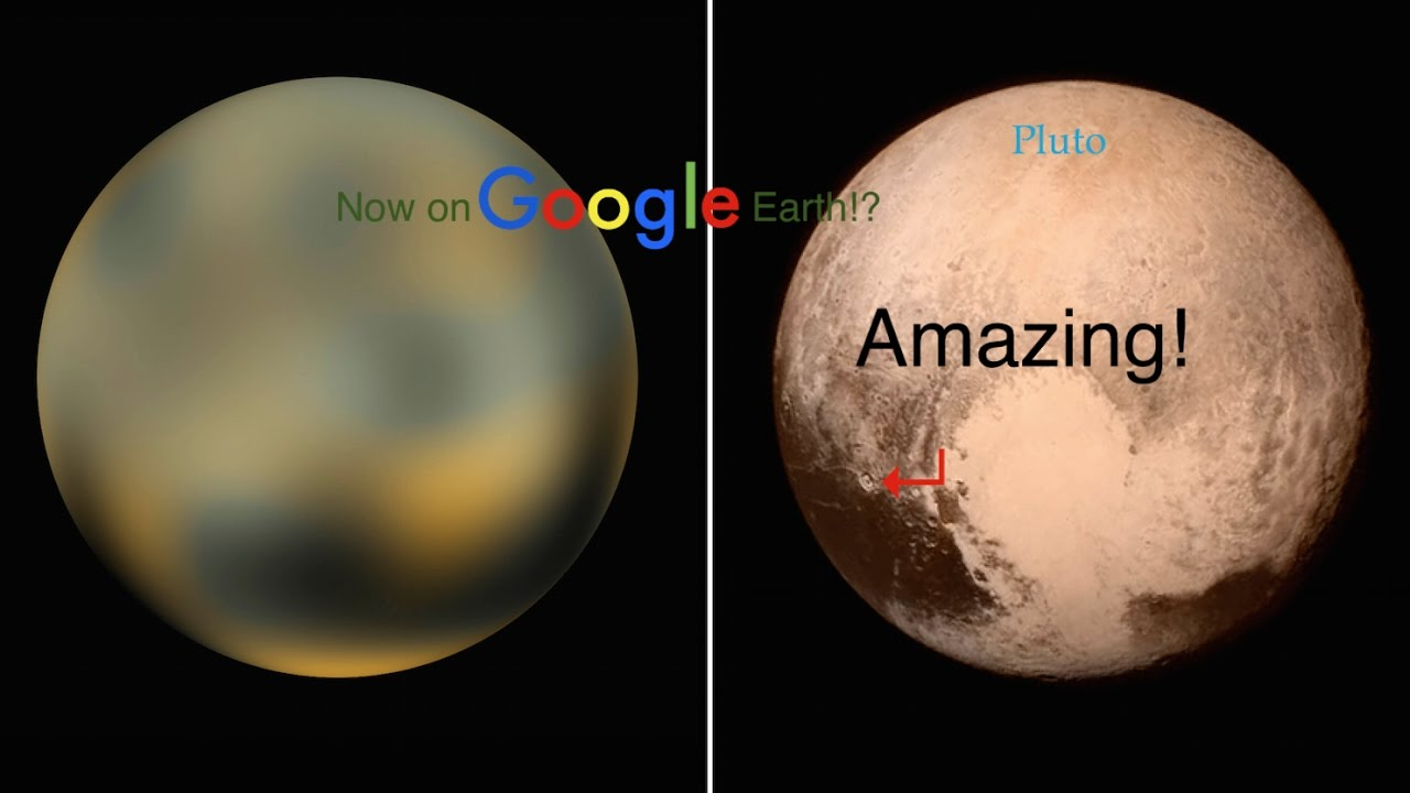 Google Pluto!? It's Real! | Google Earth Showcase | - YouTube