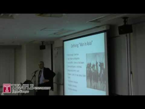 Public lecture (11/14/2011): Is war possible in East Asia?