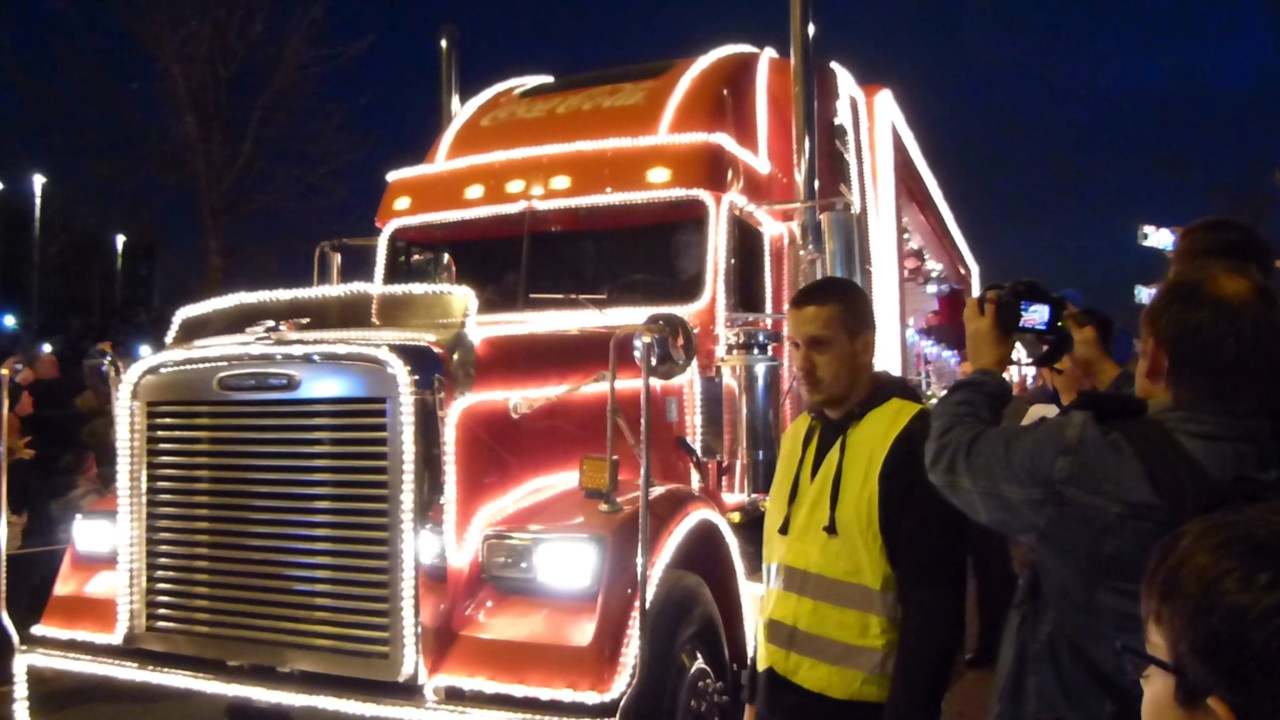 Coca Cola Trucks Essen 2016 Youtube