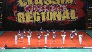 Colegio Eyzaguirre - Thunder Blue - Cheer School - Senior Co-Ed Basico