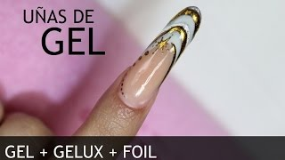 Uñas de Gel, Gelux y Foil | MIA SECRET