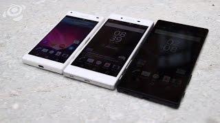 Sony Xperia Z5, Z5 Compact und Z5 Premium im Hands-On [HD] Deutsch