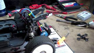Back Bajr Build mounting wing & ESC..