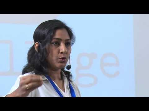 Acting a profession to admire   Rohini R   TEDxSonaCollege