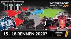 Formel 1 Kalender 2020: Saisonstart in Österreich, 15-18 Rennen?