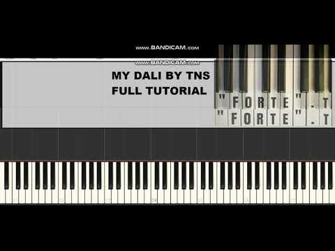 my-dali-by-tns-ft-indlovukazi-(piano-tutorial)