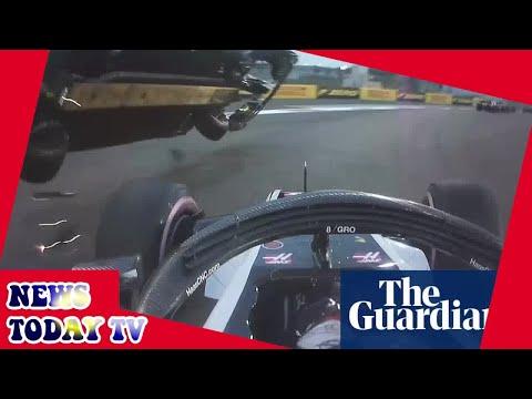 Lewis Hamilton caps title-winning 2018 in Abu Dhabi after Hülkenberg flips