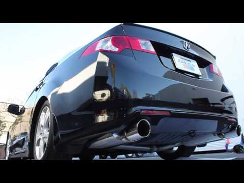 GReddy Supreme SP Exhaust Acura TSX CU YouTube - Acura tsx exhaust