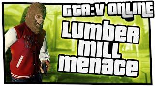 GTA 5 Online Beast vs Slasher - Lumber Mill Menace