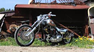 Harley Davidson and the Marlboro man bike
