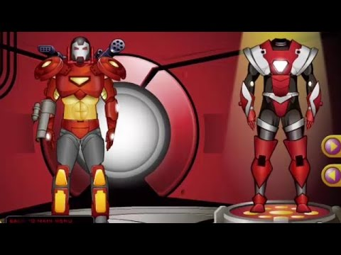 Iron Man Dress Up - Super Heroes Games 4 Kids