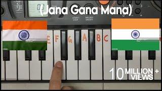 Download lagu Jana gana mana easy piano tutorial.