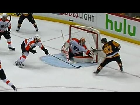 Neuvirth robs Crosby to save game with seconds remaining