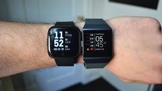 ساعة Fitbit Versa أو ساعة Fitbit Ionic ؟