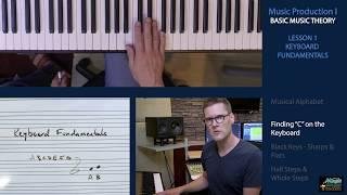 BASIC MUSIC THEORY 1 - Keyboard Fundamentals