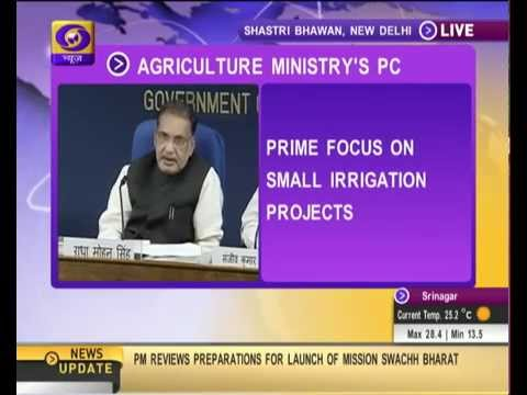 Agriculture Minister highlights achievements of Govt